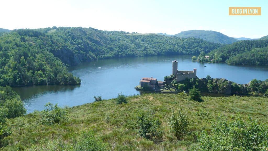 Idées baignades proches de Lyon - Plage Saint Victor Sur Loire | Blog In Lyon