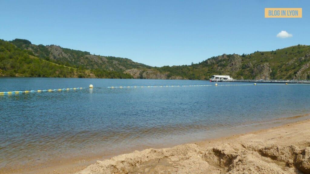 Où se baigner près de Lyon - Plage Saint Victor Sur Loire | Blog In Lyon