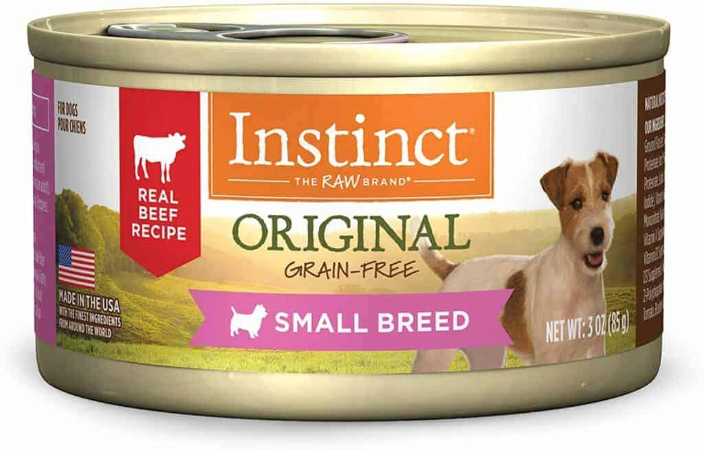 grain free dog food for small dogs