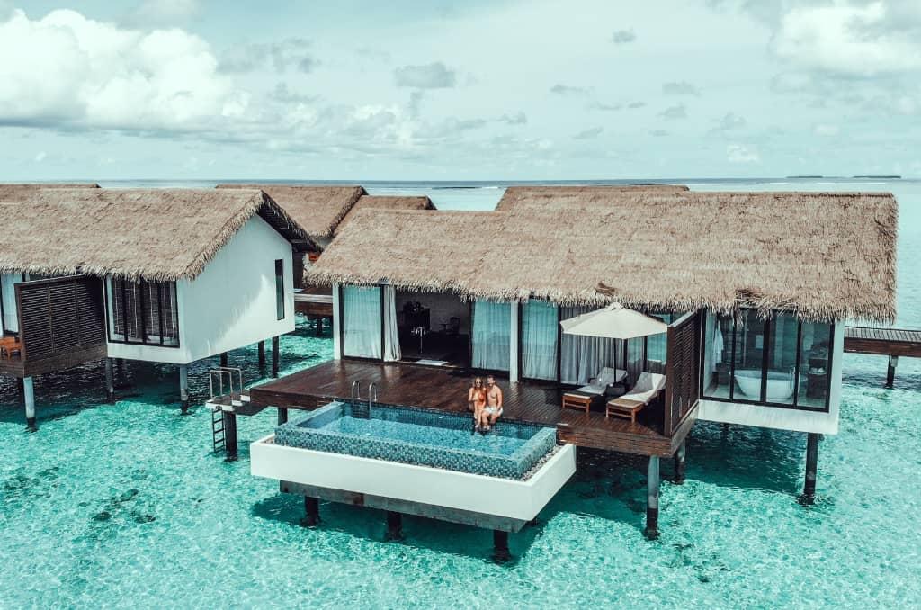 Wasservilla auf den Malediven