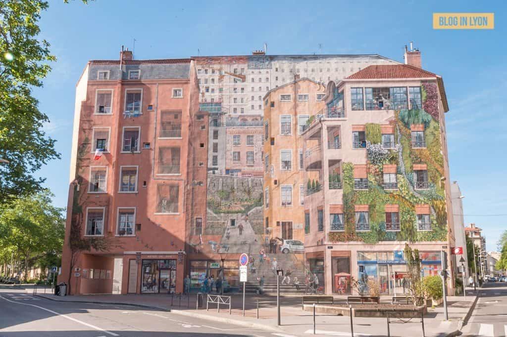 Fresque des Canuts - Top 15 des plus beaux murs peints de Lyon | Blog In Lyon