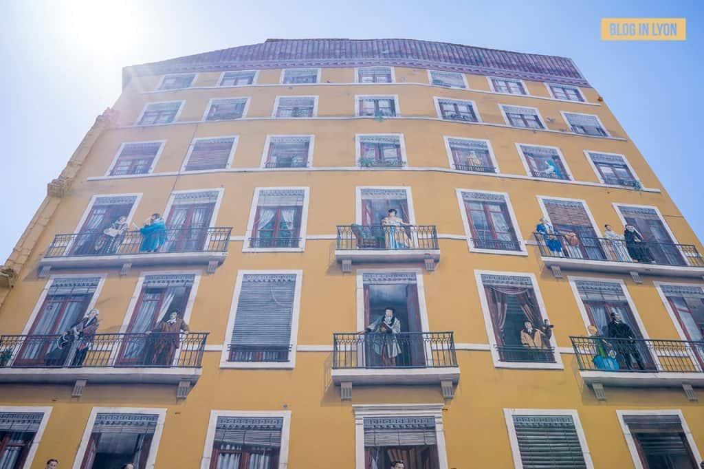 Fresque des Lyonnais -Top 15 des plus beaux murs peints de Lyon | Blog In Lyon