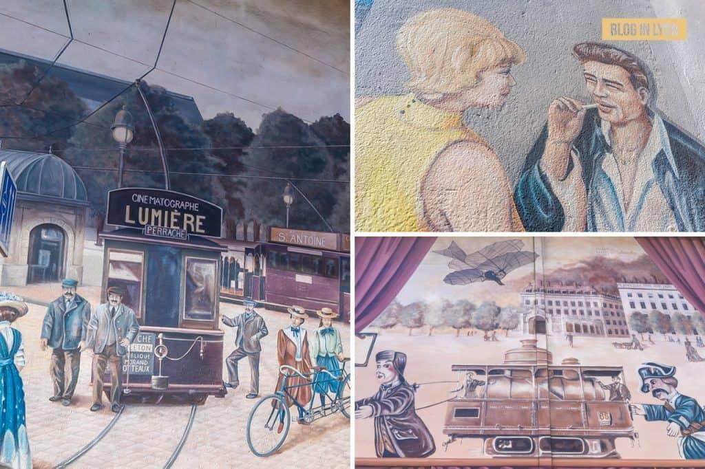 FresqueVoyages dans la ville - Top 15 des plus beaux murs peints de Lyon | Blog In Lyon