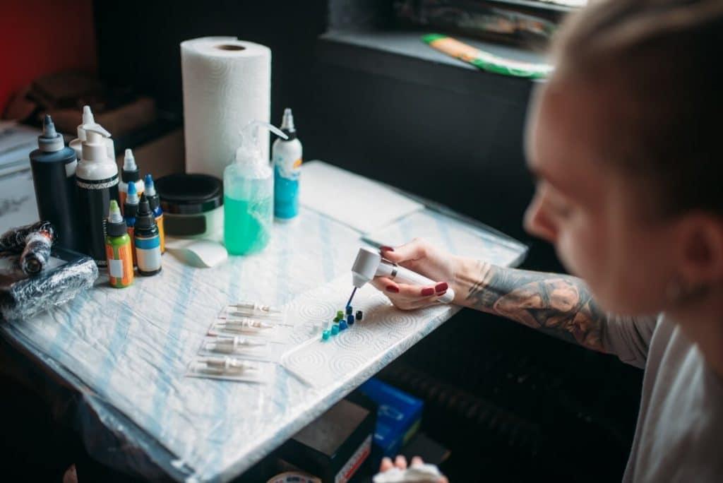 Dövme Sanatçılığı