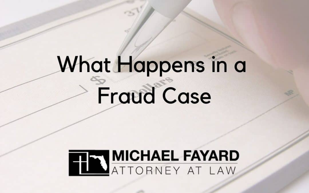 Sarasota Criminal Defense Fraud Case