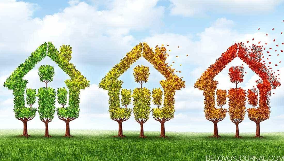 Рыночный отчет по продажам недвижимости США в Октябре 2020