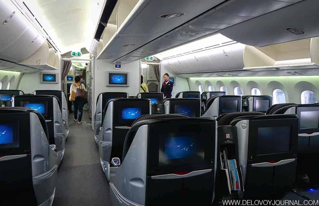 Первоклассный салон в Боинг 787