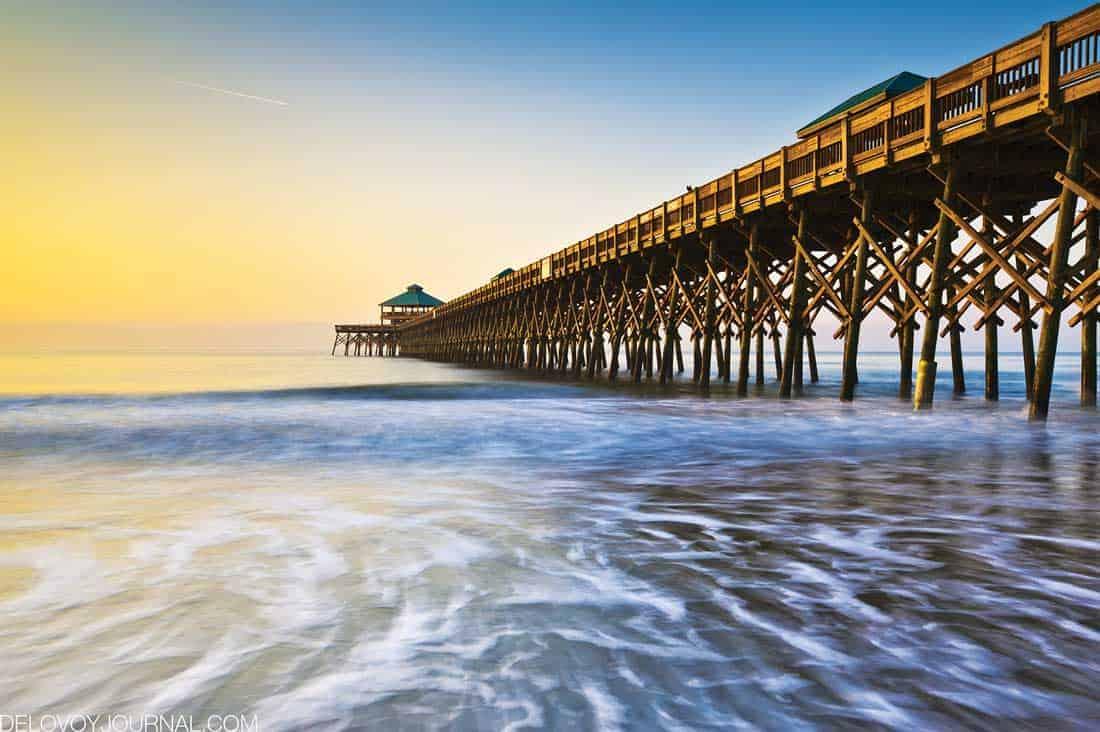 Пляж Фолли, Южная Каролина