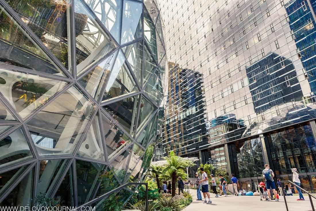Главный офис Amazon в Сиэтле