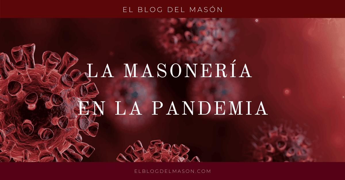La masonería en la Pandemia