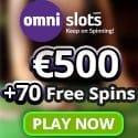 Omni Slots Casino 70 free spins and $500 welcome bonus