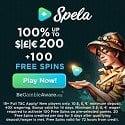 Spela Casino 100 free spins and €1000 welcome bonus