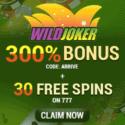 Wild Joker Casino 80 free spins and $2,000 exclusive bonus