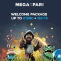 How to get €1500 bonus & 150 free spins to Megapari Casino?