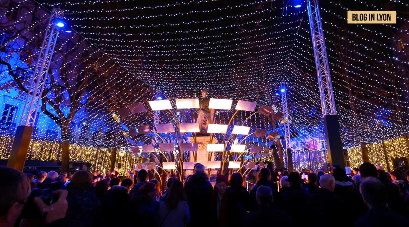 Fête des Lumières 2018 - Vidéo Place Sathonay   Blog In Lyon