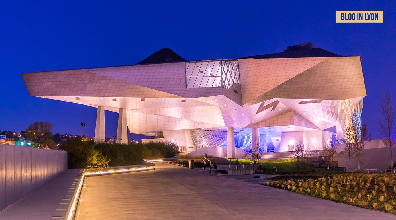 Le Musée des Confluences Lyon - Fond écran Lyon | Blog In Lyon