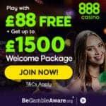 How to get $88 free no deposit bonus at 888 Casino?