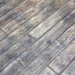 concrete wood floor is easier to clean than the real hardwood