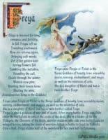 Goddess Freya information page 1