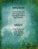 Imbolg - Pagan / Wiccan Holiday information page 2