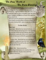 Nine Worlds of the Norse Cosmology pg 1