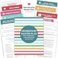 PTA PTO Membership Master Plan