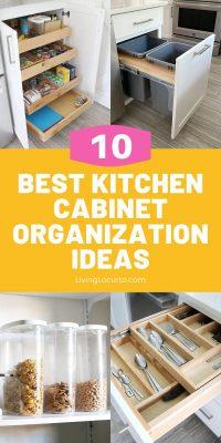 Best Kitchen Cabinet Organization Ideas Living Locurto