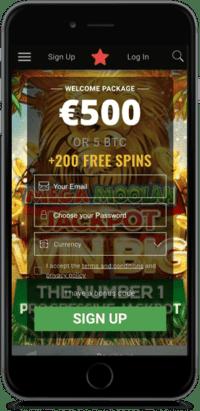 Bitstarz 200 free spins and 500 EUR or 5 Bitcoin Bonus