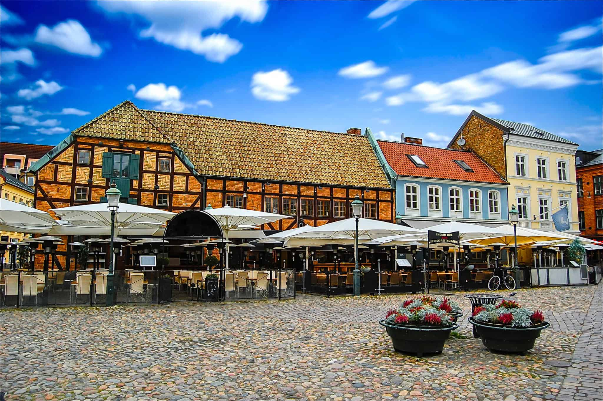 Der Marktplatz im Zentrum von Malmö