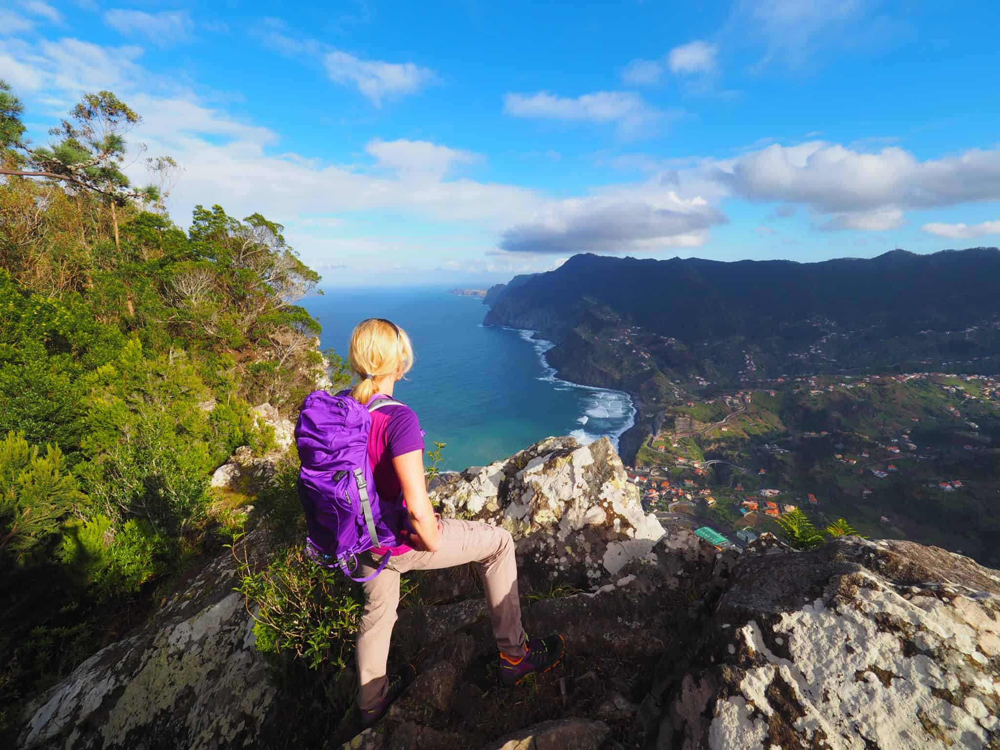 Herrliche Ausblicke im Norden Madeiras