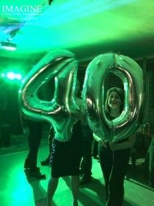 Neil's 40th birthday party at Ely Tigers Rugby Club