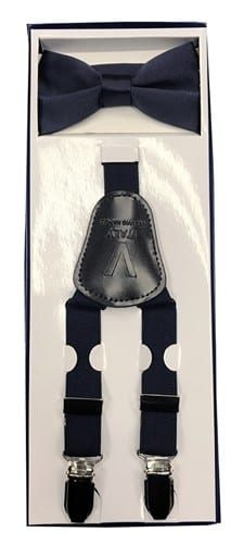 Boys All Colors Suspender and Bow Tie Sets with Clips
