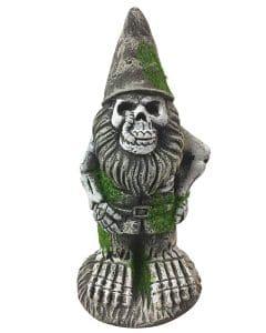 skeleton garden gnome