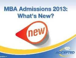 What's New MBA 2013