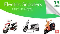 Electric Scooters Price in Nepal | 2018