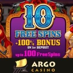 10 free spins + 100% welcome bonus
