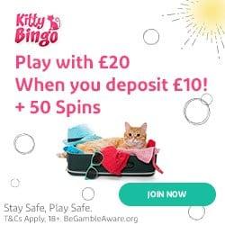 100% bonus + 50 free spins on Aloha