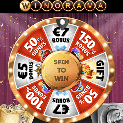 Win up to 7 EUR on scratch tickets