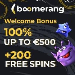 Boomerang Casino banner logo