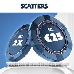 Scatters Casino [register & login] €25 free bonus no wagering