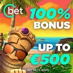 Cbet.gg Review 100% bonus + €500 gratis + free spins
