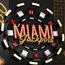 Miami Jackpots Casino bonus banner 250x250