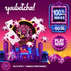 YouBetcha Casino Bonus Banner