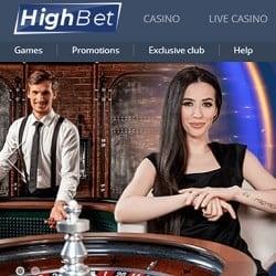 HighBet Casino banner