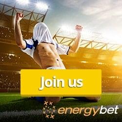 EnergyBet - £5 free bet bonus   Live betting and sportsbook!