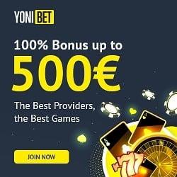 Yonibet Casino banner