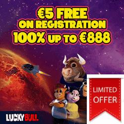 Get 5 EUR free bonus!