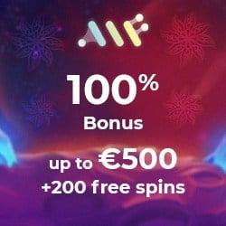 Alf Casino [register & login] 200 gratis spins + €500 free bonus