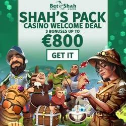 €800 welcome bonus