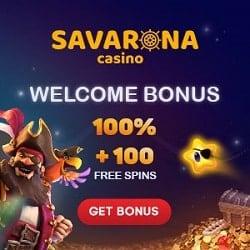 Savarona free spins
